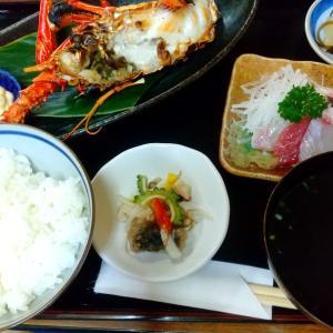 奄美大島でイセエビを堪能