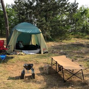 キャンプとか言うアクティブな遊び