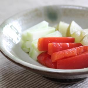 ビタミンC野菜の美肌ぬか漬け