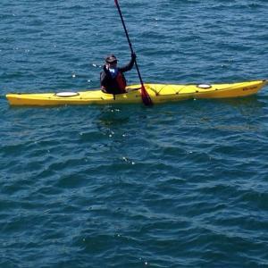 南伊豆の家に置きっぱなしのカヤック2艘   I want to kayak  after the emergency situation ends
