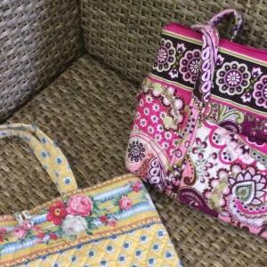 ヴェラ ブラッドリー、 ヴァネッサ・ブリューノ お気に入りのバッグ   Vera Bradley Bags  Vanessa Bruno Bags