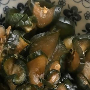 自家製 キューちゃん風 きゅうりの漬物 とってもおいしい! Homemade pickled cucumber