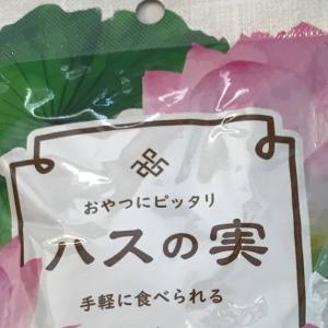 業務スーパー ハスの実 ほっくり甘栗かゆり根みたい・・  Lotus seeds Gyomu-Supermarket