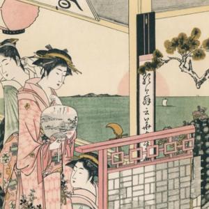 浮世絵師の描く涼やかな日本  Ukiyo-e  of summer scenes