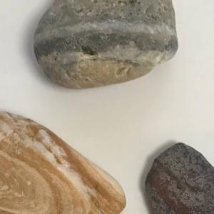 静岡県伊豆 大浜海岸で石拾い メノウ・石英・玉髄・・? picking up beautiful stones at Ohama Beach of Izu