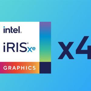 Intelから『Xe-LP』を4基搭載したサーバー用GPUが登場