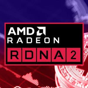 AMD Radeon RX 6800のマイニング性能はRTX 3090の1.5倍に迫るか