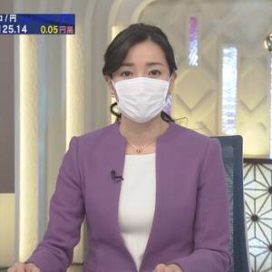 【芸能】テレビ東京「WBS」大江麻理子キャスターらマスク着用!「緊急事態宣言受け決断」視聴者「マスクでも聞き取れた」「他局もマスクにすべき」