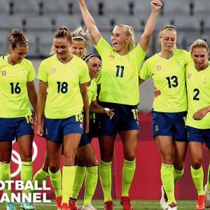 【東京五輪】女子サッカーは波乱の幕開け!44戦無敗のアメリカが初戦でスウェーデンに0-3の完敗