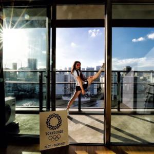 【東京五輪】選手村の絶景に「すごすぎる」の声!体操女子オーストリア代表が自室の写真公開「覚えておくべき光景」