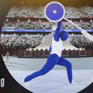 【東京五輪】開会式の演出、ピクトグラム50競技実演に「一番面白かった」「中の人は誰?」気になる正体
