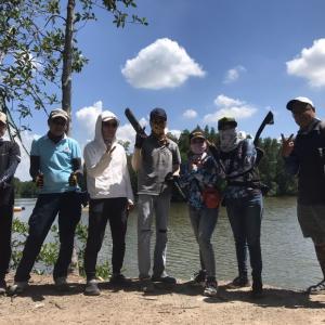 日曜日の釣行