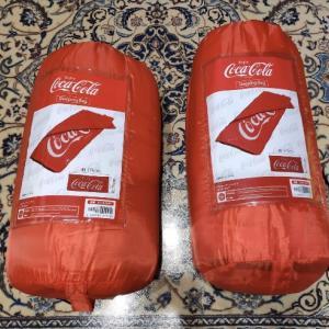 コカ・コーラのシュラフ(寝袋)GETしました!