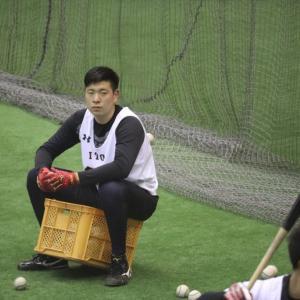 伊藤海斗選手、初ホームラン!