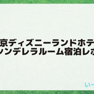 【写真多数】東京ディズニーランドホテル・シンデレラルーム宿泊レポ