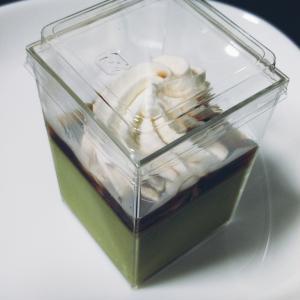*お菓子工房SHIMIZU* 黒蜜ソースの抹茶プリン 390円(税込) 【東京都台東区・浅草】