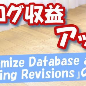 今ある記事だけでアクセス数アップ!ブログ収益アップにつながる「Optimize Database after Deleting Revisions」の活用方法