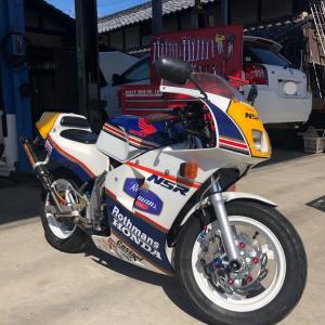 マイバイク(NSR50)…メンテナンス❗️