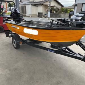ボートトレーラー…車検整備❗️