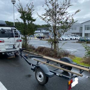 ボートトレーラー…継続車検❗️