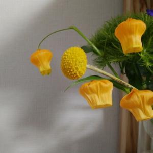 ポストに届く花の定期便。
