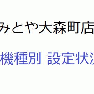 6月24日「みとや大森町店」のイベントと設定状況