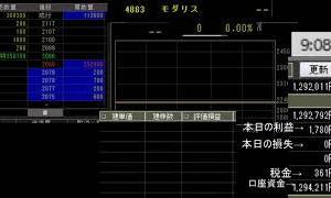 【儲かる手法】8/4前場 株のデイトレード ライブ配信 株式投資