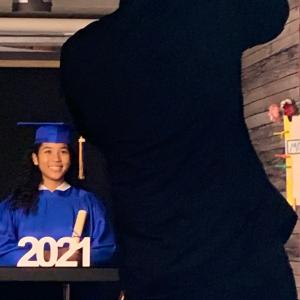 一生忘れない、息子の中学、ドライブスルー卒業式