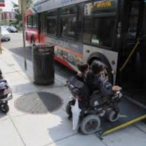 障害者 •日本とアメリカの違い-全てがバリアフリー•