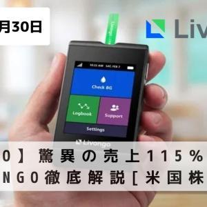 【LVGO】驚異の売上115%成長!Livongo徹底解説[米国株投資]