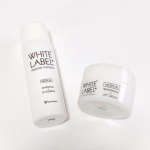 〈もちもち肌になれる美白スキンケア〉ホワイトラベルプラス * 美容水 / リフトクリーム