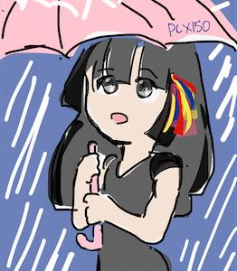 傘はいらない。