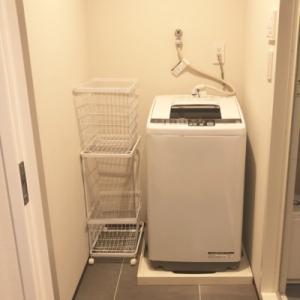 小さくても使いやすい我が家の脱衣室
