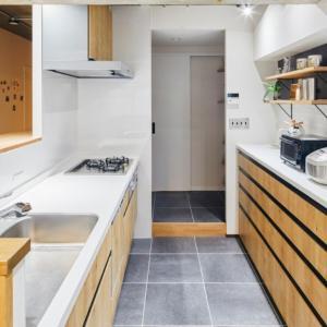 リノベーションで叶えた対面キッチン&パントリーをブログで紹介