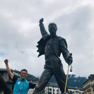 UTMB2019冒険記23:観光編@Montreux 目標達成!