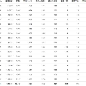 練習日誌20/7/4 ポイント練16kmペース走+ランニングの失速の原因と対策