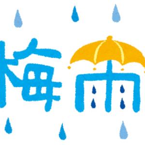 【梅雨の時期】蒸し暑い日々が続きますが、気温は快適な温度です
