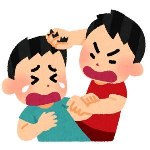 【兄弟喧嘩】再び兄弟喧嘩勃発で長男が次男に暴力を振るいました