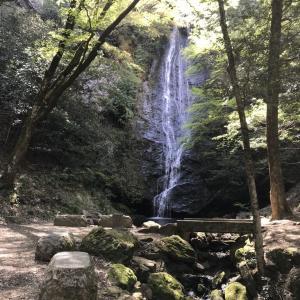 一枚岩を流れる美しい琴滝 -おじおば下道の旅-