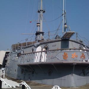 三笠公園 戦艦三笠 -おじおば下道の旅 改め 高速の旅-