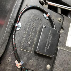コマジェ改160にインジェクションコントローラー取り付け