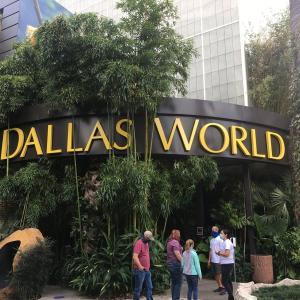 水族館ぽくないDallas World Aquarium