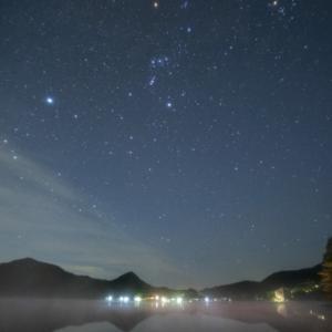 オリオン輝く湖