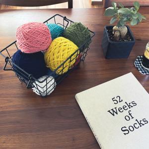 話題の靴下編みの本からLurik編みました【本レポ】