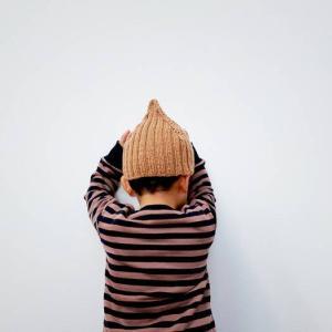 【棒針】どんぐり帽子帽子の作り方と目数の決め方