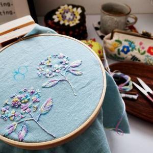 刺繍にどっぷりはまる日々