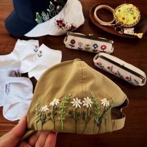 納品と刺繍とモチーフ編み