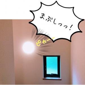 LEDが目を直撃する照明に絶句。