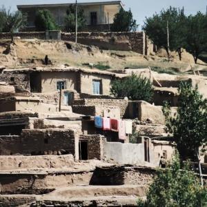 タカブ郊外にあるササン朝ペルシャの遺跡で