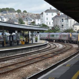 コロナ渦中、イングランドの列車の旅